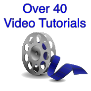 video tutorial movies to learn vector drawing